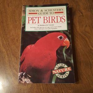 SIMON & SCHUSTER'S GUIDE TO PET BIRDS PAPERBACK